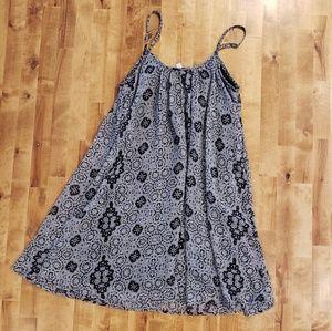 XS Black & Gray Xhiliaration Dress